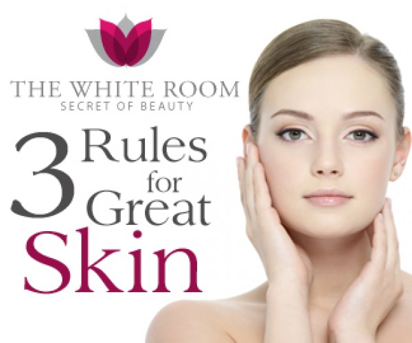 3 Rules for Great Skin